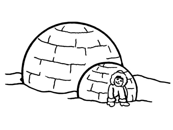 Pin On Eskimo Girl Coloring Pages