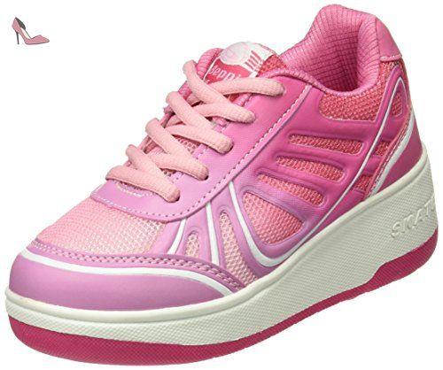Chaussures Beppi rose fushia Casual fille C41JCK
