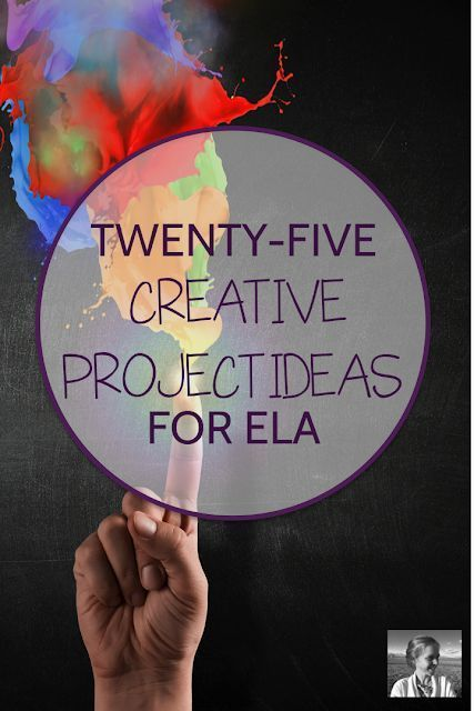 25 Creative Project Ideas for ELA -  #Creative #ELA #Ideas #Project
