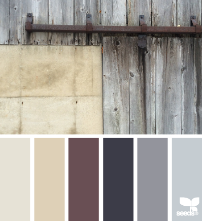 rustic tones (design seeds) is part of House color schemes, Bedroom color schemes, Living room colors, House colors, Rustic house, Kitchen colors - The easiest way to follow your favorite blogs