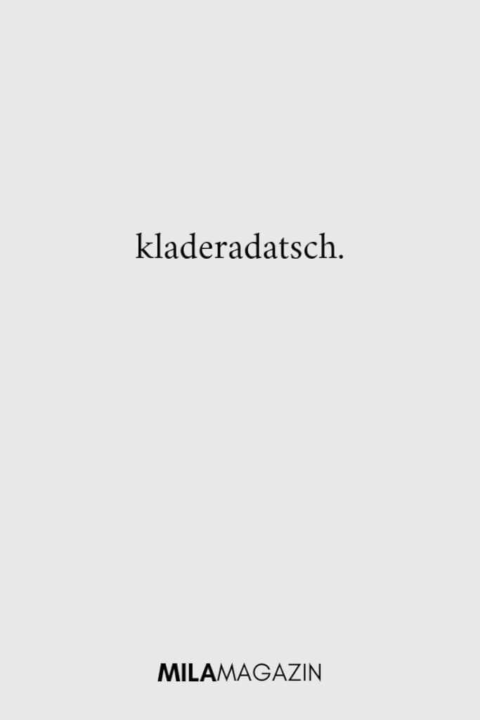 21 seltene und tolle deutsche Wörter | MILAMAGAZIN