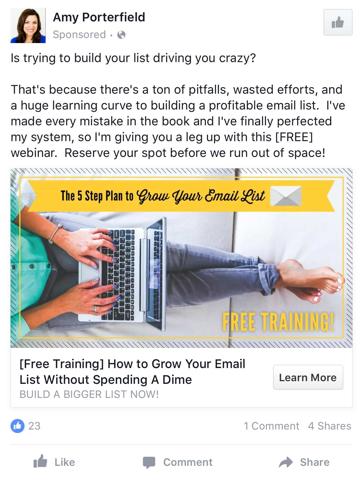 Facebook Ad Example Gallery Facebook Ads Examples Facebook Ad Ads