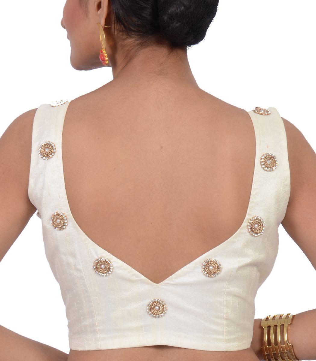 White raw silk designer blouse bl indian house agencies also rh pinterest
