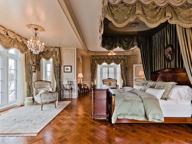 Celine Dions Montreal Master Bedroom