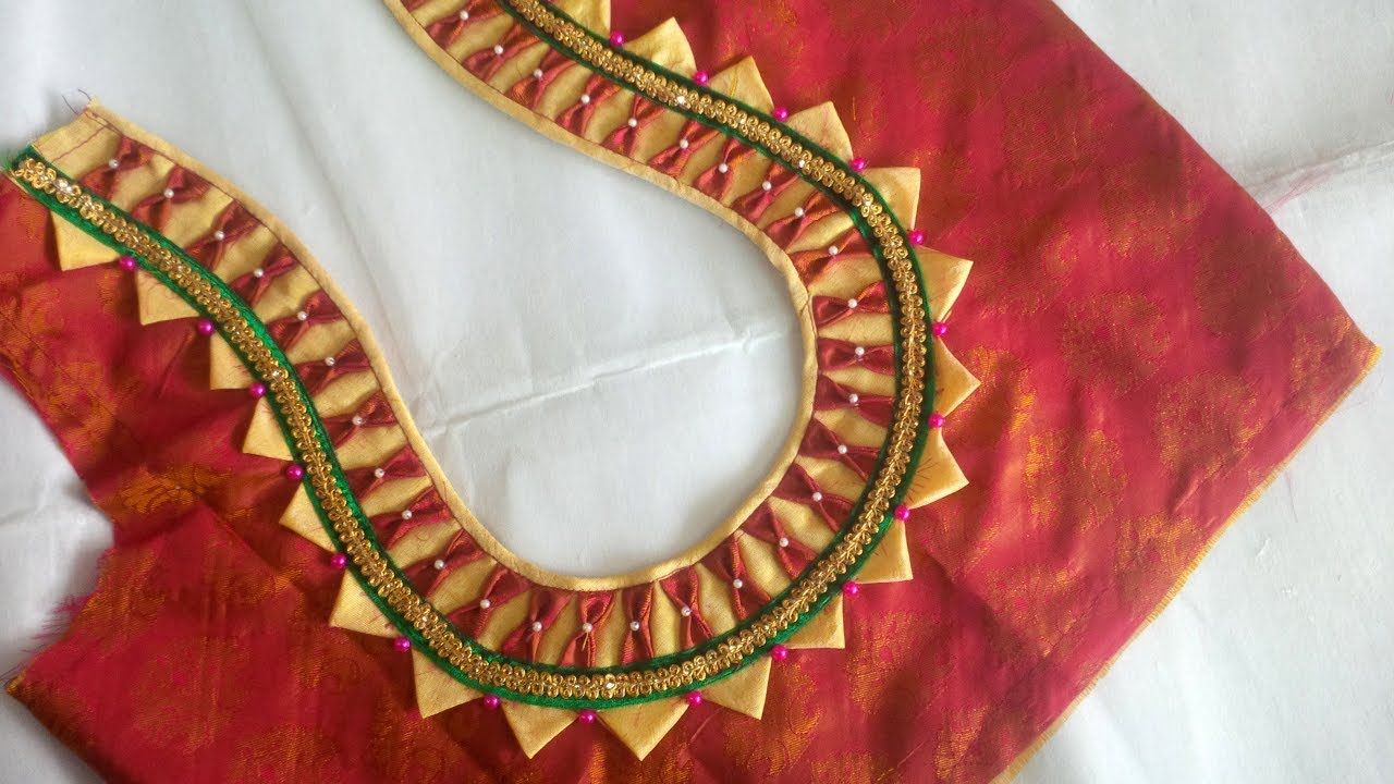 Saree blouse design cutting image result for new model blouse designs cutting and stitching at