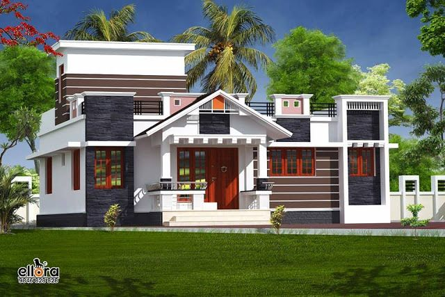 Low cost bedroom free house plan in sqft for small plot kerala home plans also rh pinterest