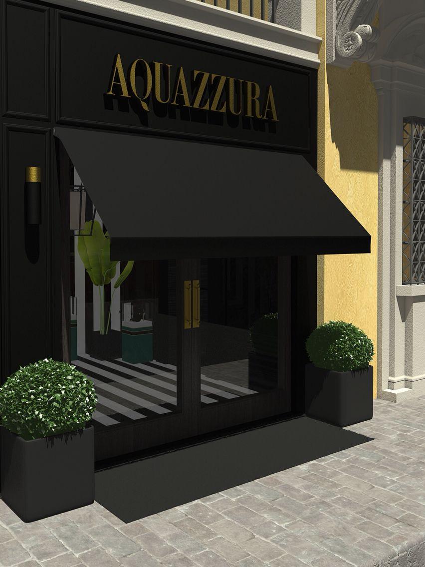 Aquazzura flagship store at Palazzo Corsini, Florence. Project by Casa do Passadiço interiors  http://www.casadopassadico.com