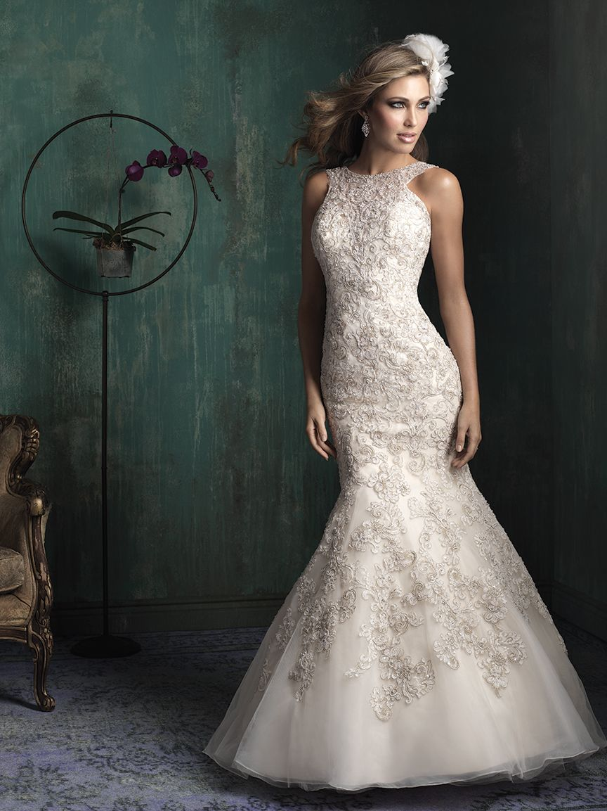 Allure Bridals Available At Lulu S Bridal Boutique Dallas Texas Salon Wedding Rehearsal Dressallure