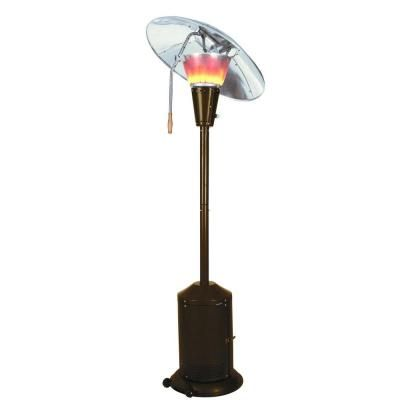 we get to spend evenings on the deck again mirage btu heat focusing patio at the home depot - Home Depot Patio Heater