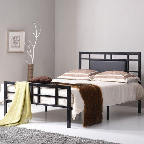 Bruce Upholstered Platform Bed   Bedroom furniture for ...
