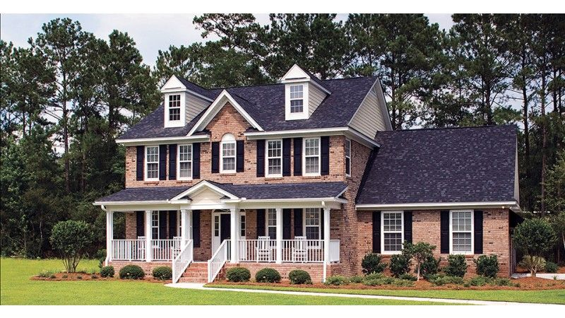 eplans farmhouse house plan glorious palladian window 2485 square feet and 4 bedrooms from eplans house plan code hwepl09763 - Traditional Country Homes