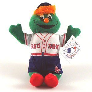 Boston Red Sox 9 Plush Mascot By Twins 11 50 Wally The Green