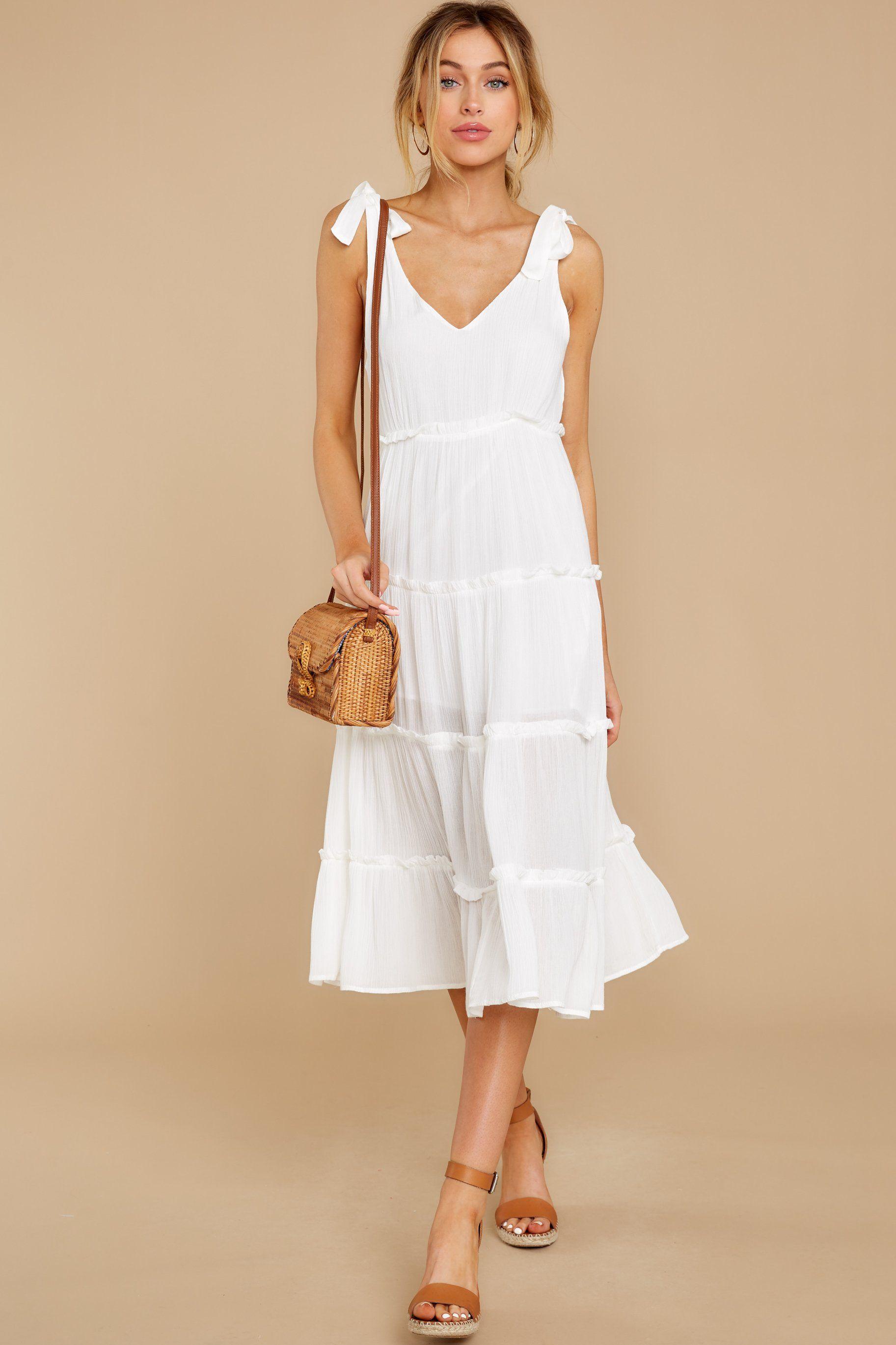In Full Swing Ivory Midi Dress Midi Dress Ivory Midi Dresses Midi Dress Casual [ 2738 x 1825 Pixel ]