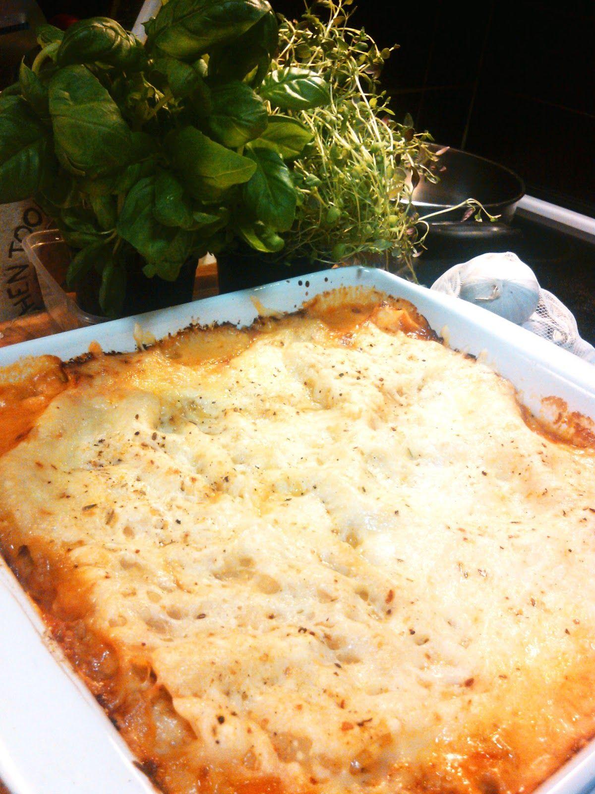 Juustokastike Lasagne