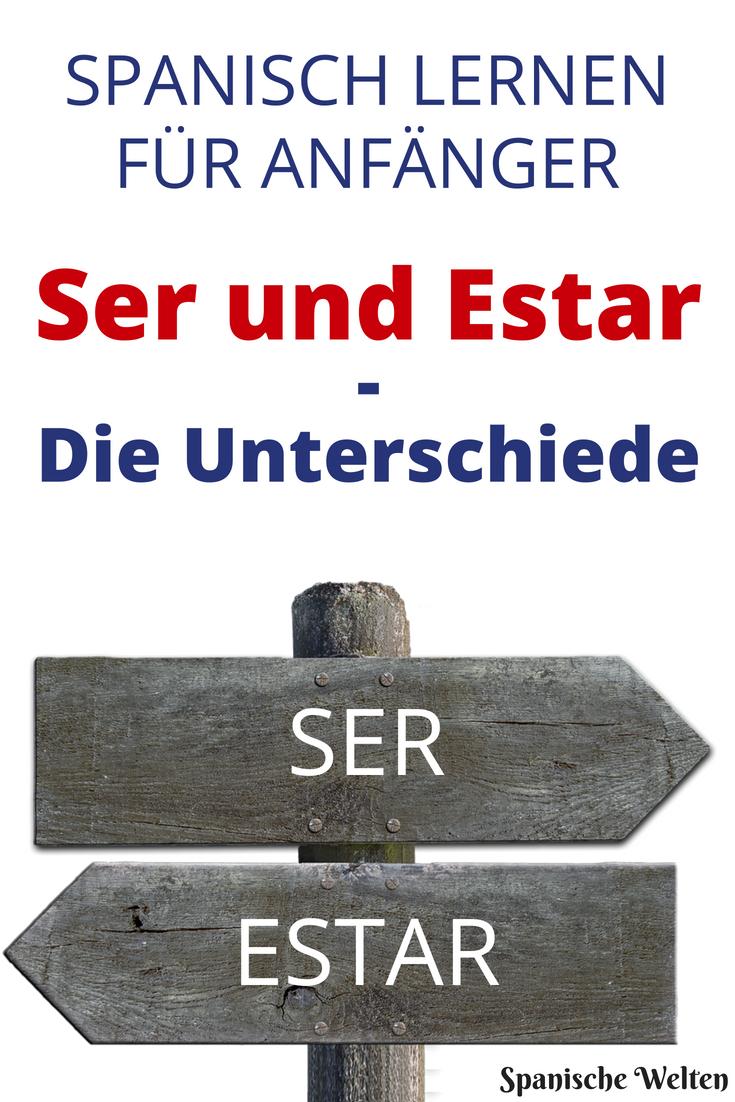 Spanisch nutzt zwei Wörter für sein Ser und Estar Der Gebrauch kann dabei durchaus verwirren Wir erklären dir die Unterschiede und helfen dir beim Spanisch...