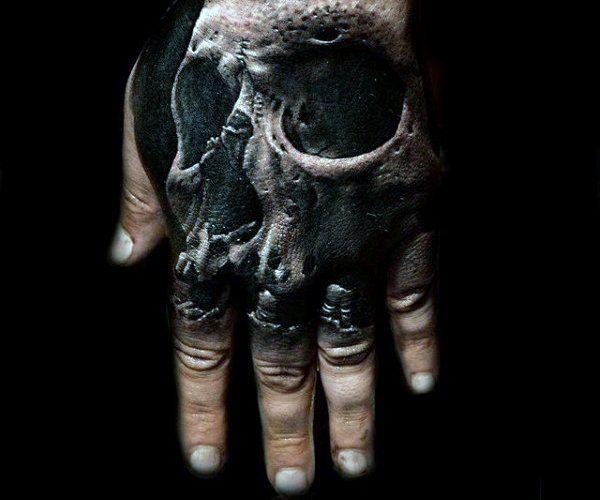 Photo of 80 Schädel Hand Tattoo Designs für Männer – Manly Ink Ideen – Mann Stil | Tattoo