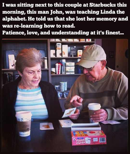 This is what true love looks like...