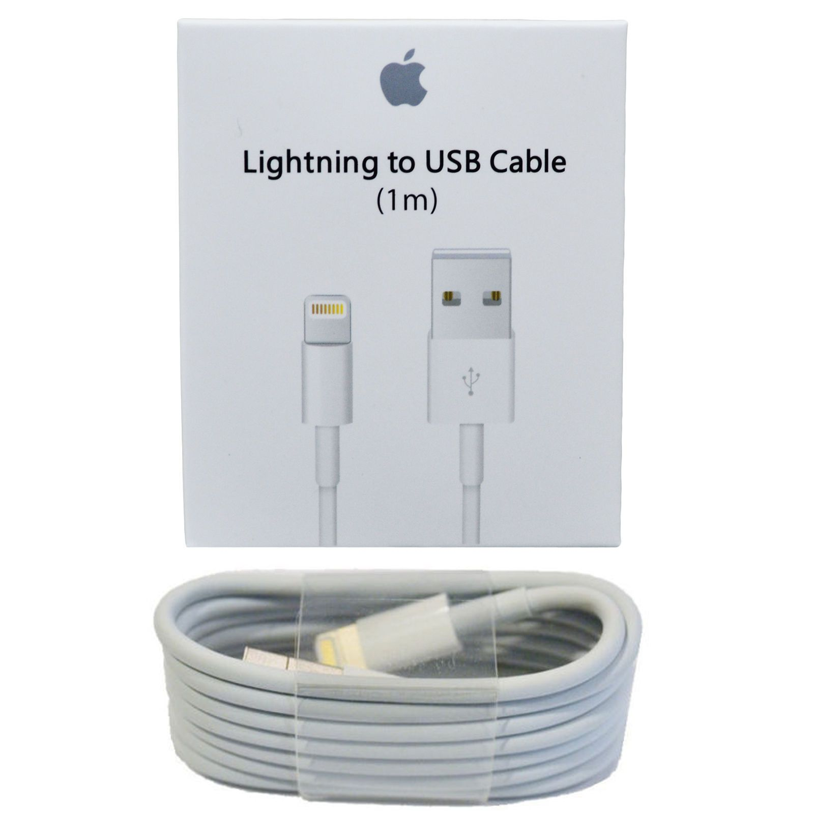 1m Oem Original Apple Lightning Usb Charger Cable For Iphone 6s Plus