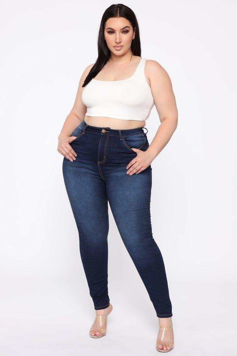 Alexa Ii High Rise Skinny Jeans Dark Denim Skinny Jeans Dark