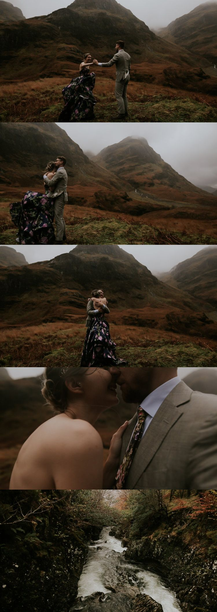 Isle of Skye, Scotland Elopement Destination Wedding