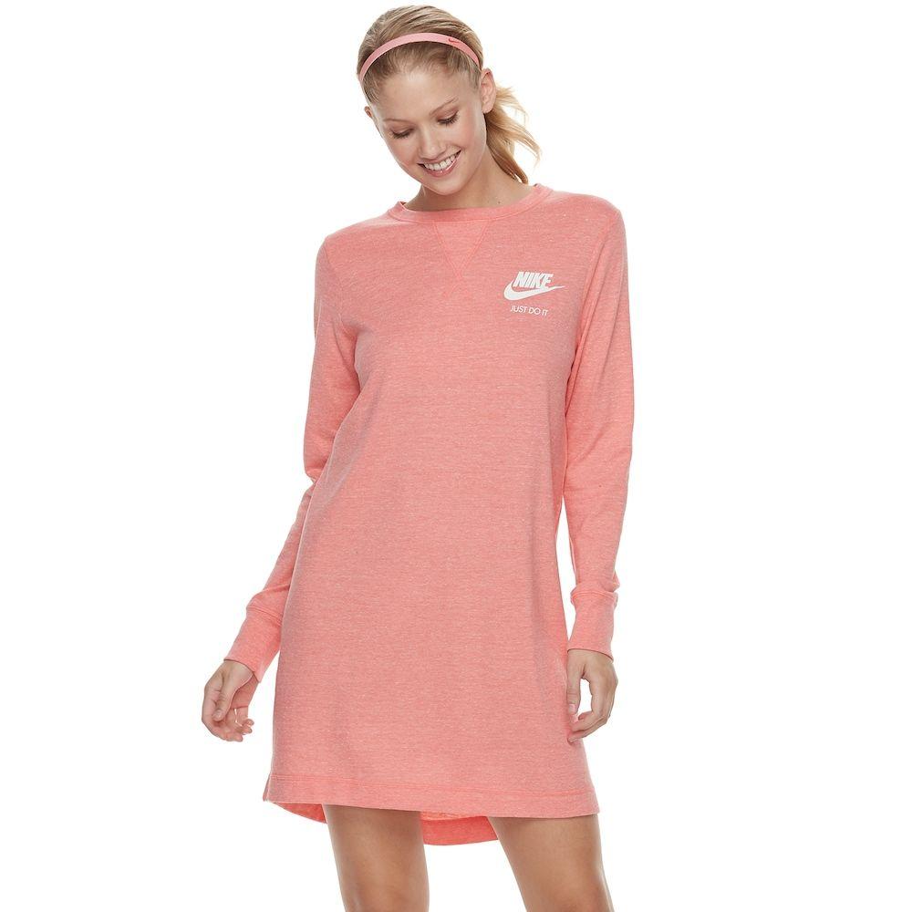 best service 57a68 0a8b0 Women s Nike Sportswear Gym Vintage Dress, Size  Medium, Dark Pink