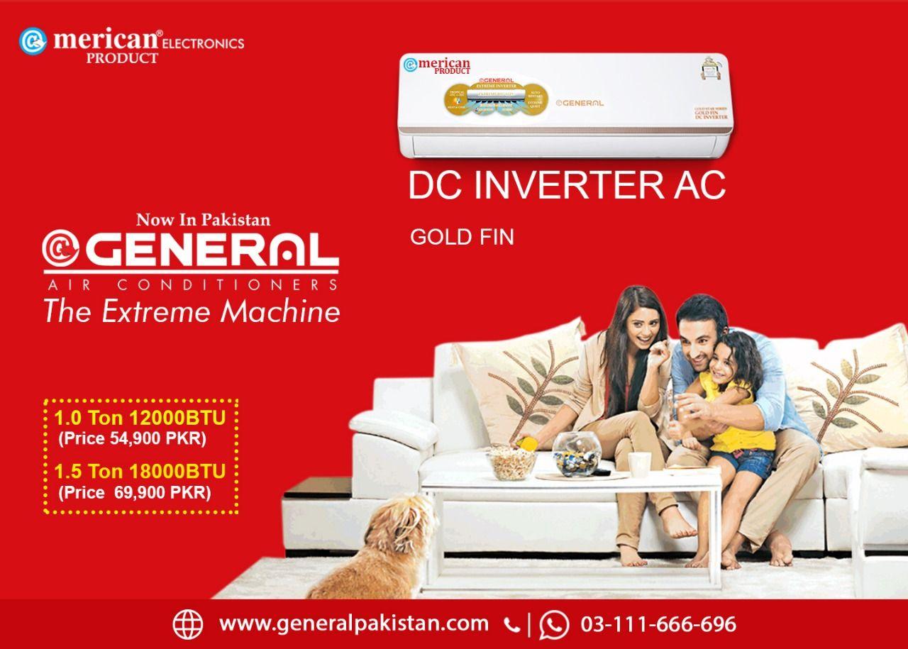 General AC Price Ac price, Inverter ac, Air conditioner