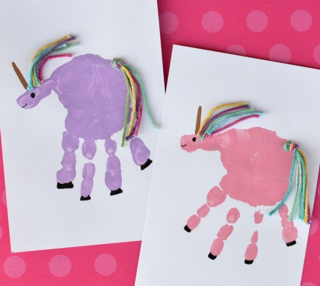 Handabdruck Bilder Gestalten Susse Ideen Fur Kinder Im