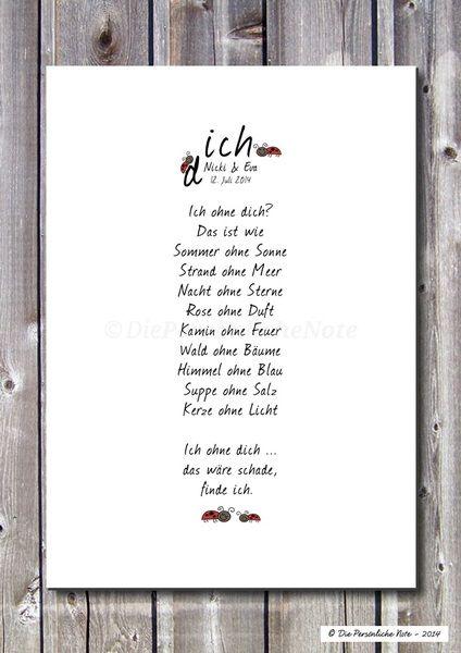 Druck/Wandbild/Print: Für Freunde und Verliebte von Die