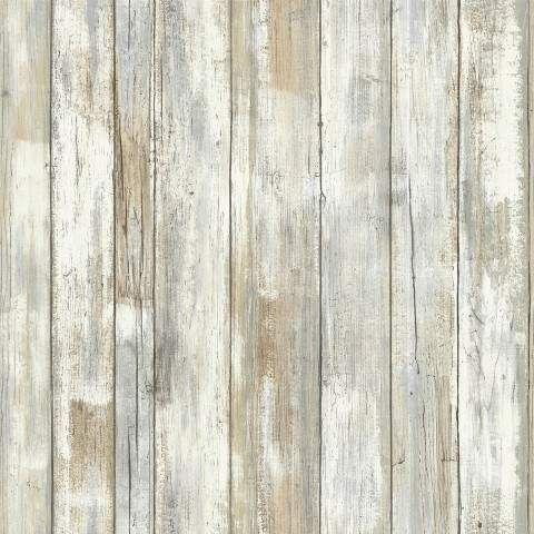 Roommates Distressed Wood Peel And Stick Wallpaper Tan How To Distress Wood Distressed Wood Wallpaper Wood Wallpaper