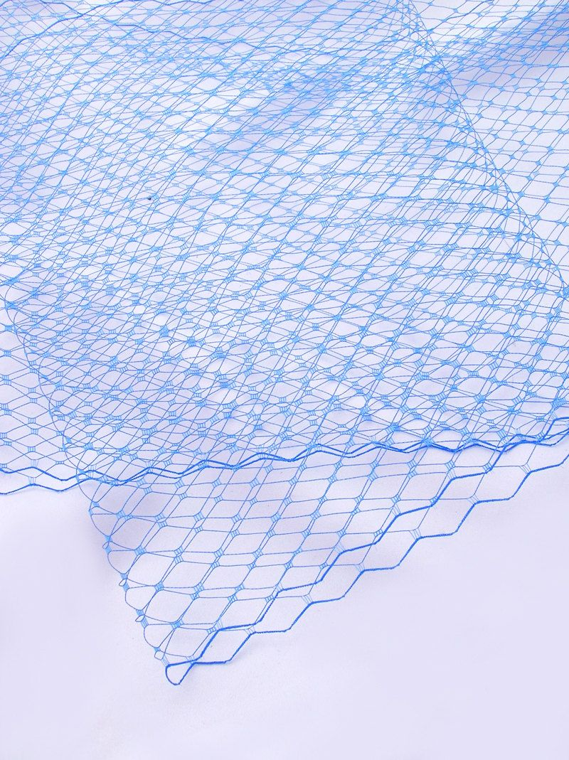 ROYAL BLUE French Netting - Birdcage Veil Material