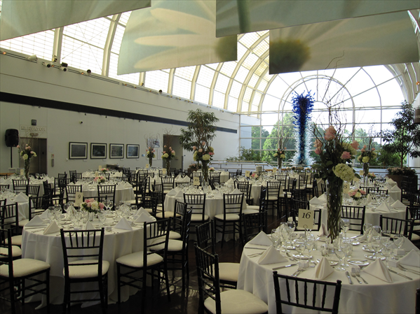 Fabulous wedding receptions at the Missouri Botanical Garden