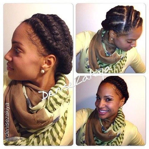 Natural Hair Styles For Workout2 Jpg 500 500 Marley Hair Marley Twist Hairstyles Hair Styles