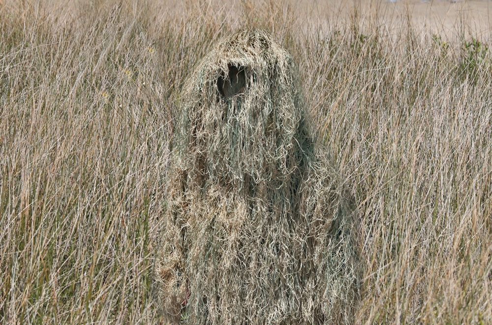 how to clean a ghillie suit
