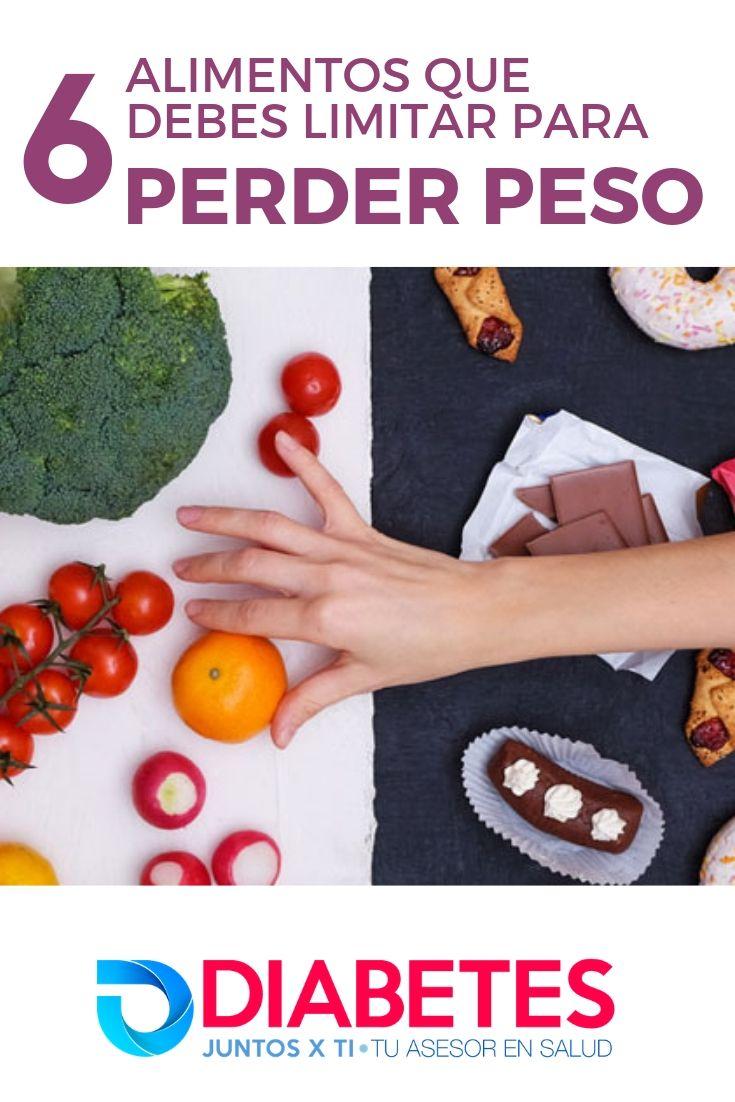 6 alimentos que debes limitar para perder peso - Alimentos..