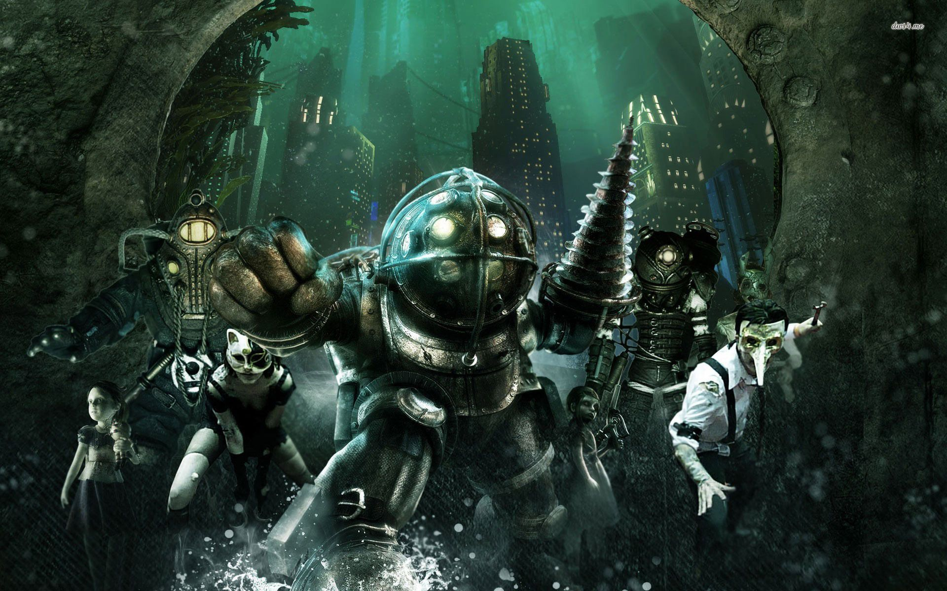 Bioshock Wallpaper 8 Desktop