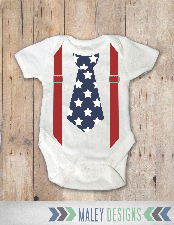 744982919 4th of July Onesie®, Patriotic Baby, Boys 4th of July Shirt , American