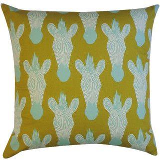 Jiti Safari Cotton Pillow @ wayfair.com but expensive! like $80  also in pink-PERFRECT FOR BEDOOM!