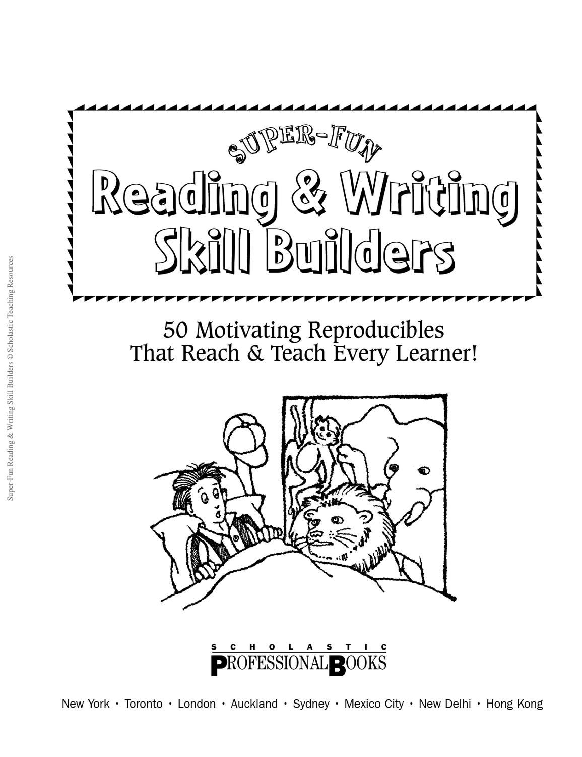 Reading Amp Writing Skill Builders