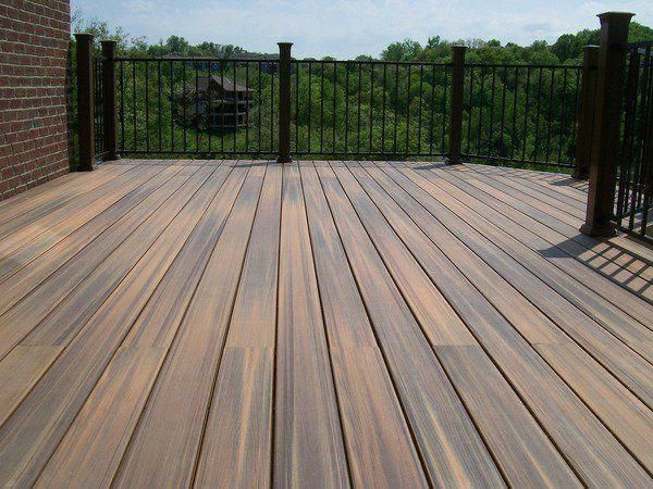 Cost To Build A Roof Over Deck Pricetobuildadeck Costtobuildadeck Deckbuildingcost Trex Composite