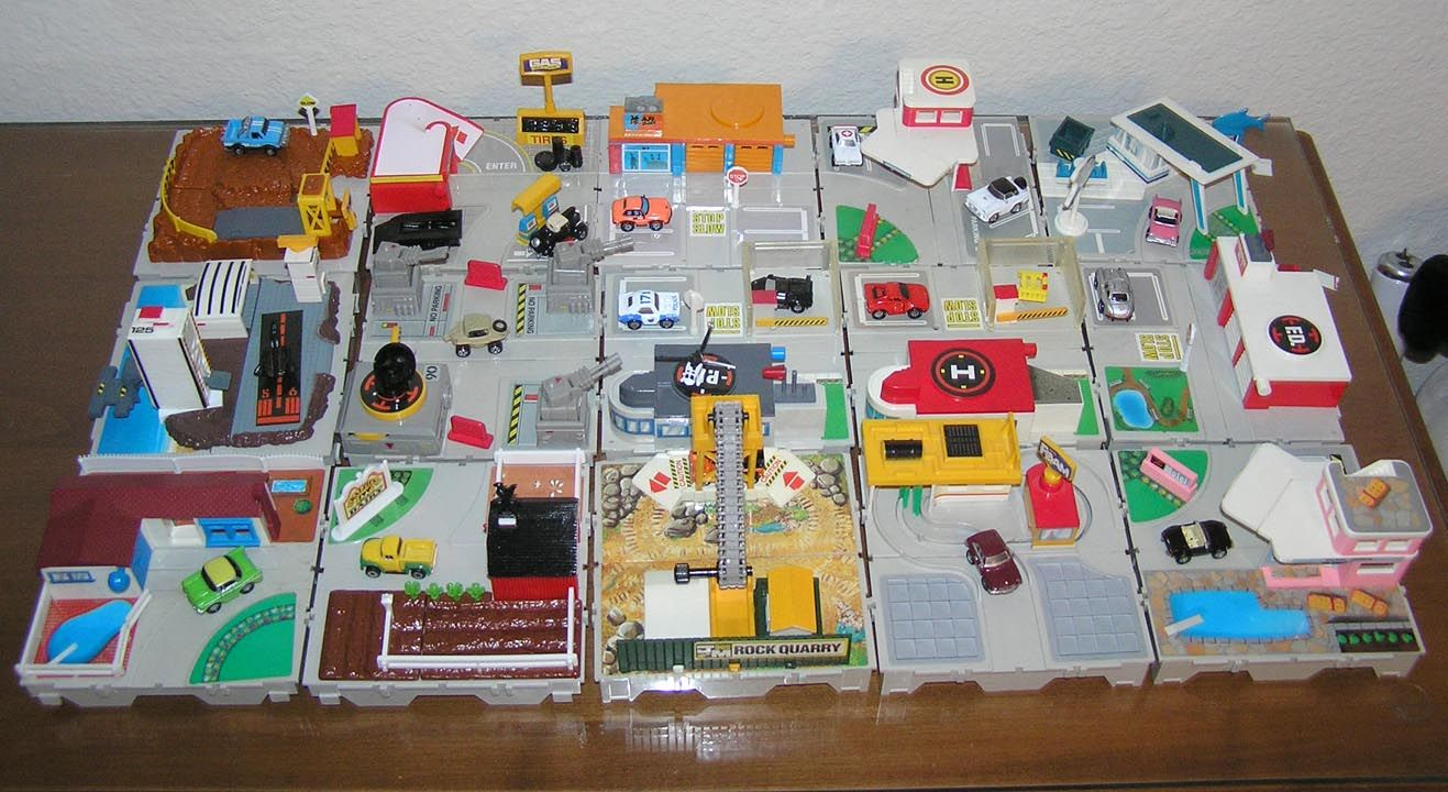 Micromachines Sets Micro Machines Childhood Toys Toys For Boys