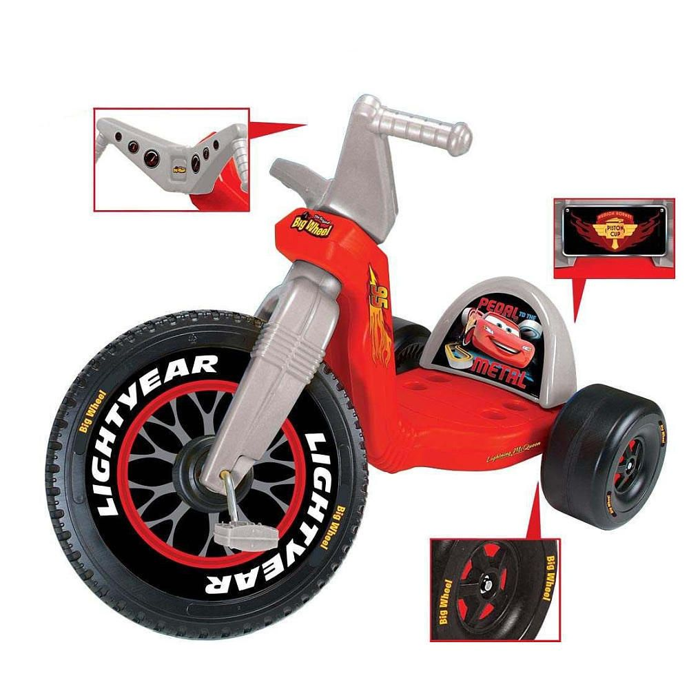 Cars 16 Inch Big Wheel Racer In Toys Hobbies Outdoor Toys