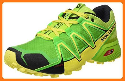 Salomon Herren Speedcross Vario 2 Synthetik Textil Trailrunning Schuhe Grun Gr 45 1 3 Partner Link Tenis