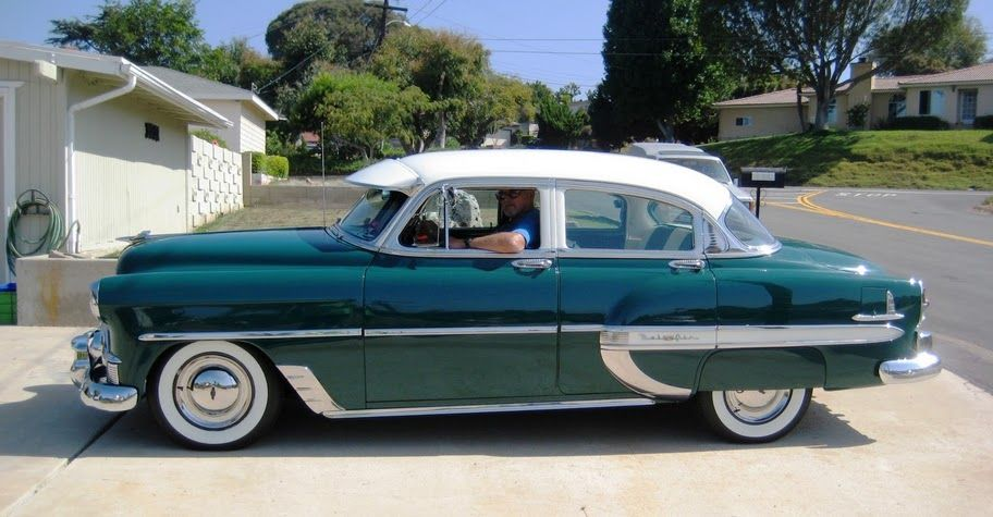 1953 chevrolet bel air 4 door sedan 6 0l gm ls v8 for 1953 chevrolet belair 4 door