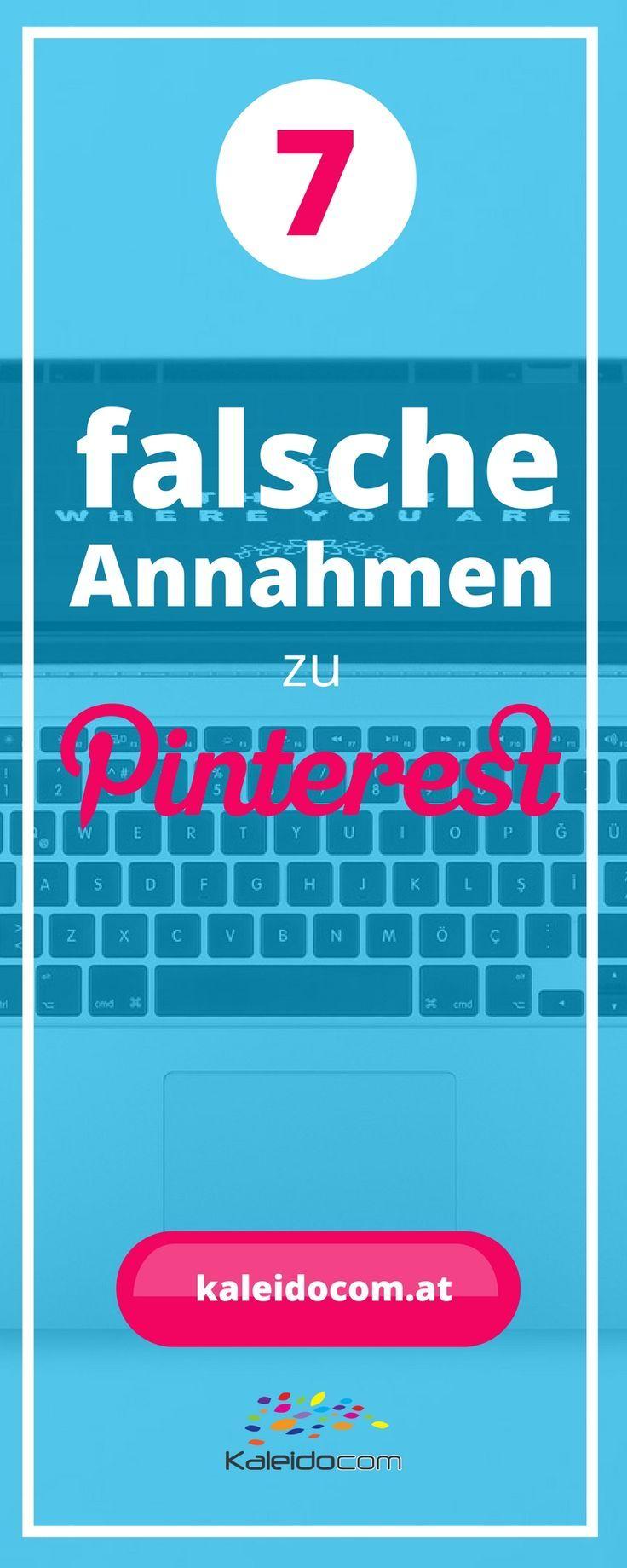 Pinterest wird immer wichtiger im Online-Marketing. Darum ist es nicht verwunderlich, dass auch einige Falschaussagen… http://itz-my.com
