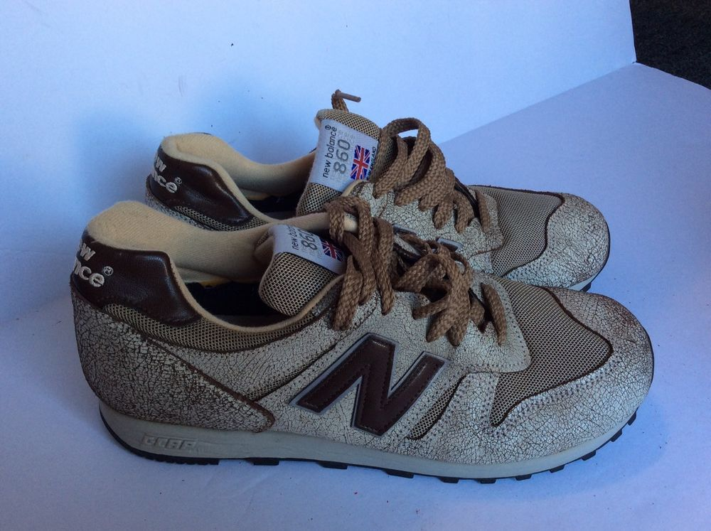 new arrival c6c3c f04fe Vintage New Balance 860 Brown Speckled C-Cap Made England Men s Size 9.5  Shoes  NewBalance  AthleticSneakers