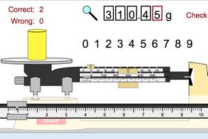 Triple Beam Balance Challenge 0 01 G Measurement Lessons Teaching Middle School Science Teaching Chemistry