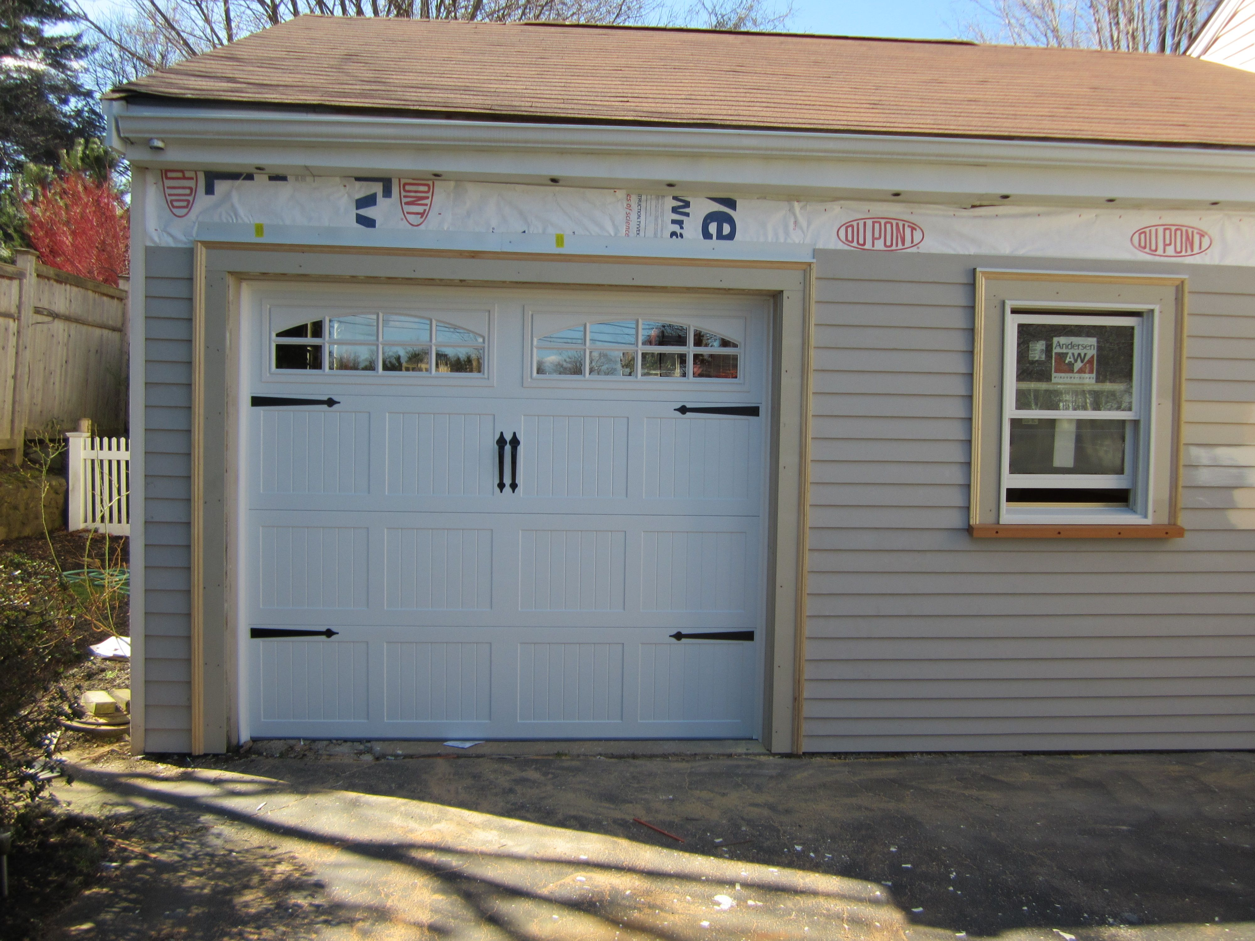 wood faux doors in amazing appeal full door finish cool decorative decor that painting of grain matters hardware size curb garage