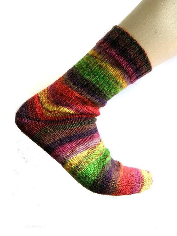 Sokken Trekking xxl Kunterbunt maat 42-43 door Carolinevantveer