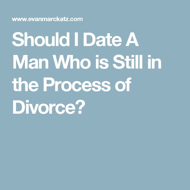 Stages of divorce for a man