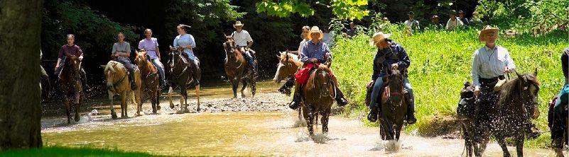 Amish horseback riding